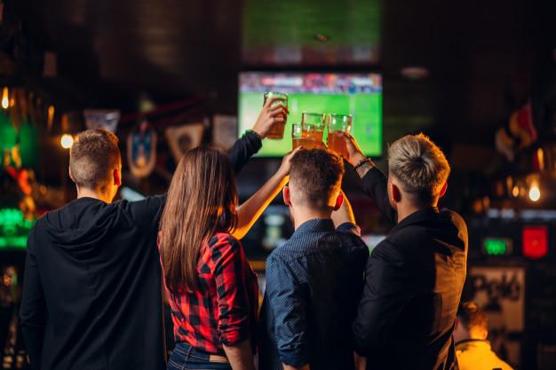 Ресторан Tarantino: большой спорт на большом экране